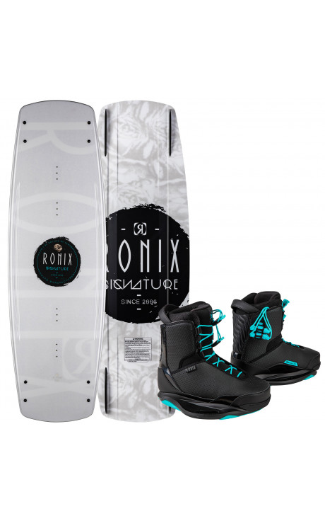 RONIX WAKEBOARD SIGNATURE WMS W/SIGNATURE BOOT PACKAGE 2021
