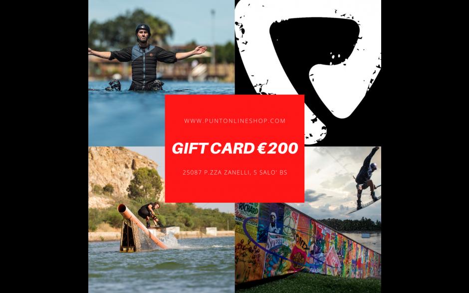 GIFT CARD €200