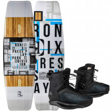 RONIX WAKEBOARD PRESS PLAY W/PARKS BOOT PACKAGE 2021